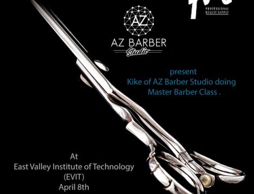 Master Barber Class – at EVIT